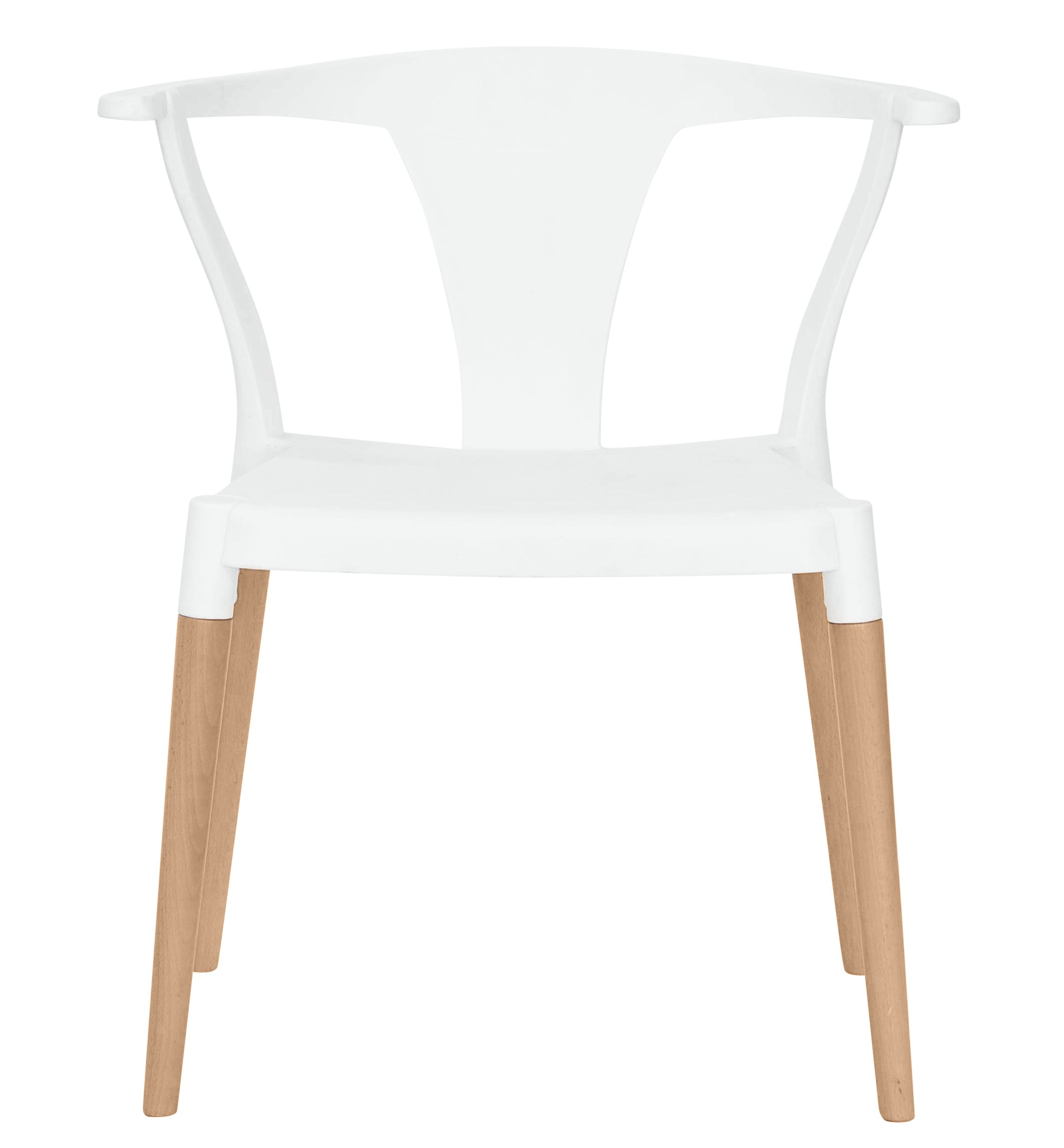Superb img of Icon Series White Modern Accent Dining Arm Chair Beech Wood Legs with #926239 color and 2122x2289 pixels