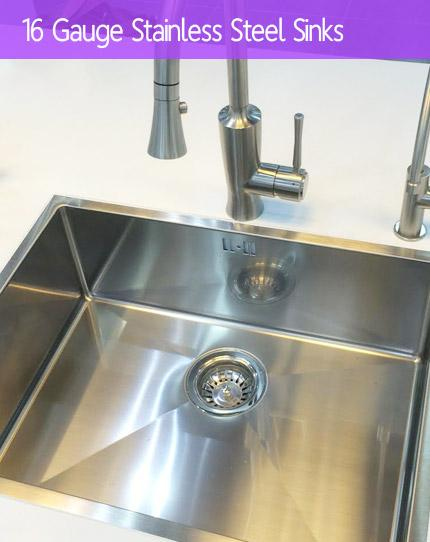 16 Gauge Kitchen Sinks