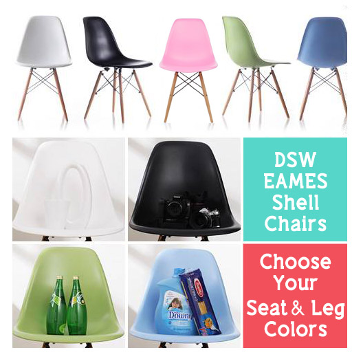 Eames Dining and Accent Chairs