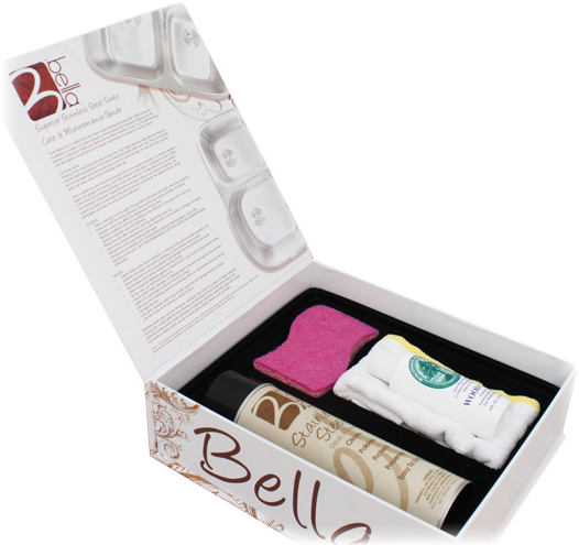 Bella Stainless Steel Sinks Care Kit