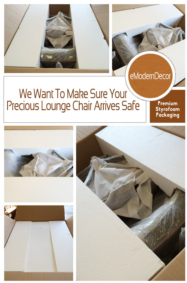 Premium Packaging for Eames Lounge Chairs