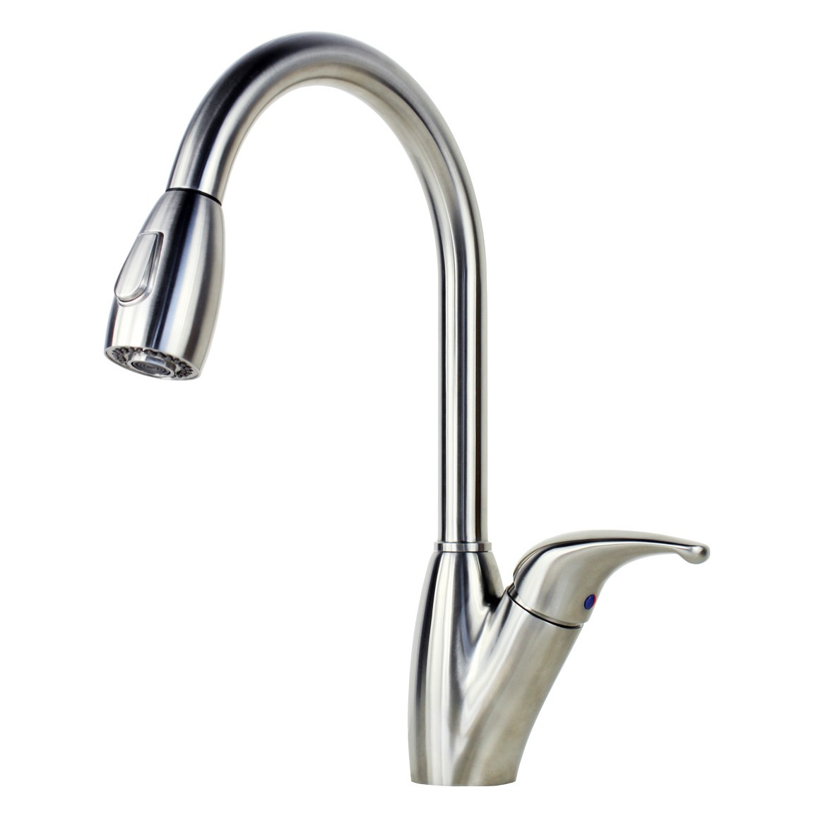 Ariel Tulip Stainless Steel Lead Free Pull Out Sprayer Kitchen Faucet