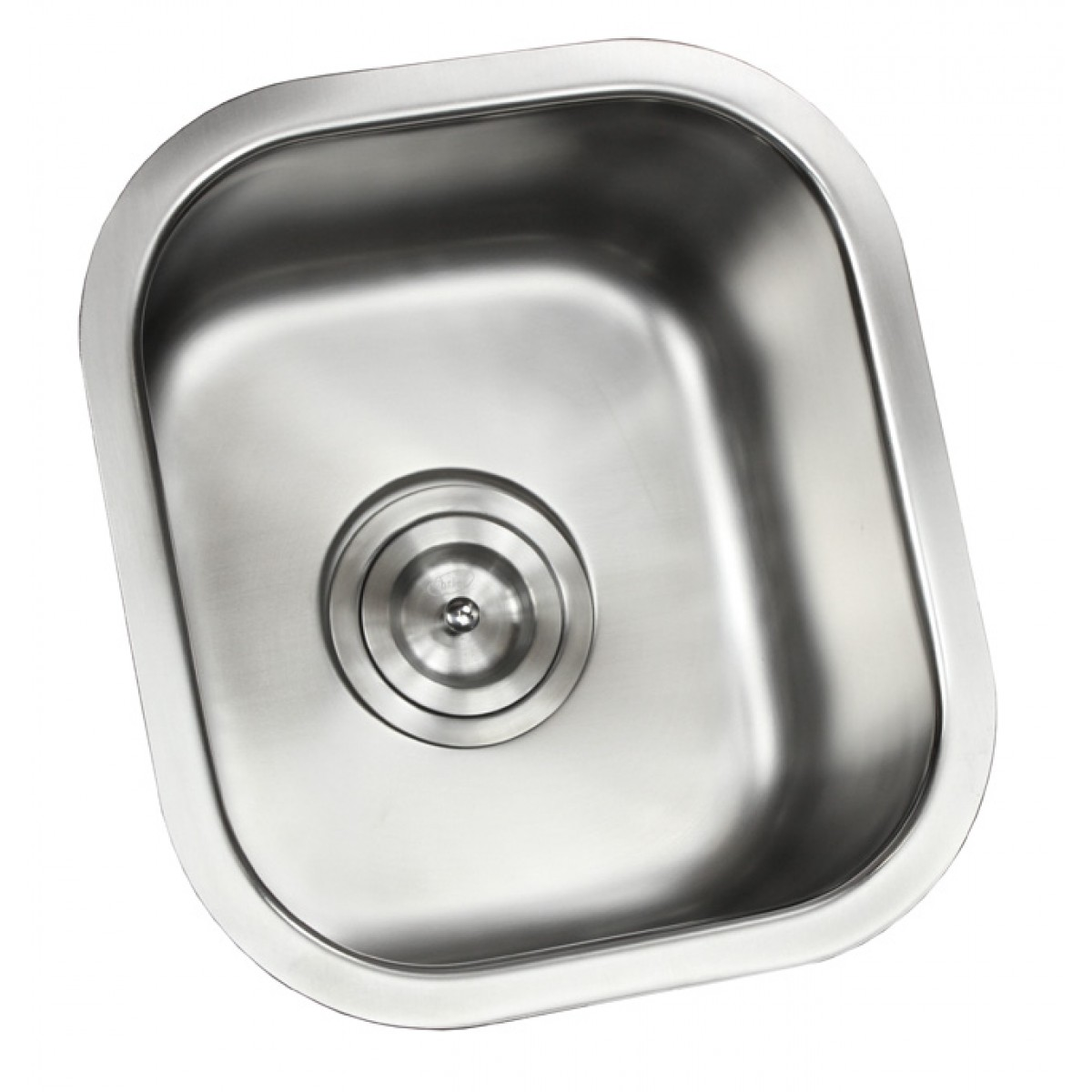 Ariel Pearl 14 Inch Stainless Steel Undermount Single Bowl