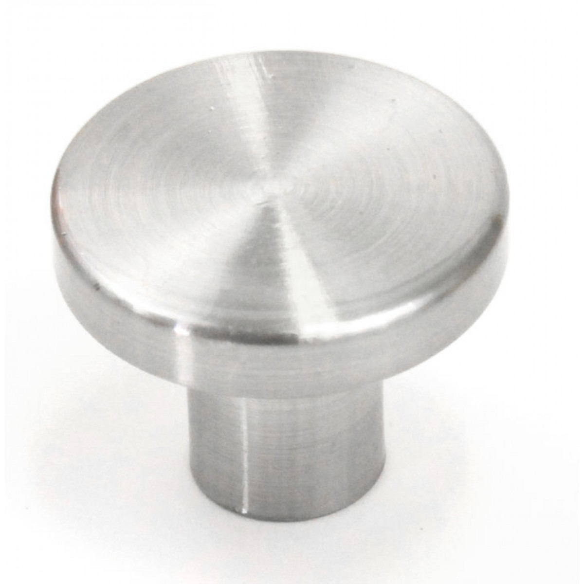 Ale 1 Inch Cabinet Pull Knob Brushed Nickel Finish