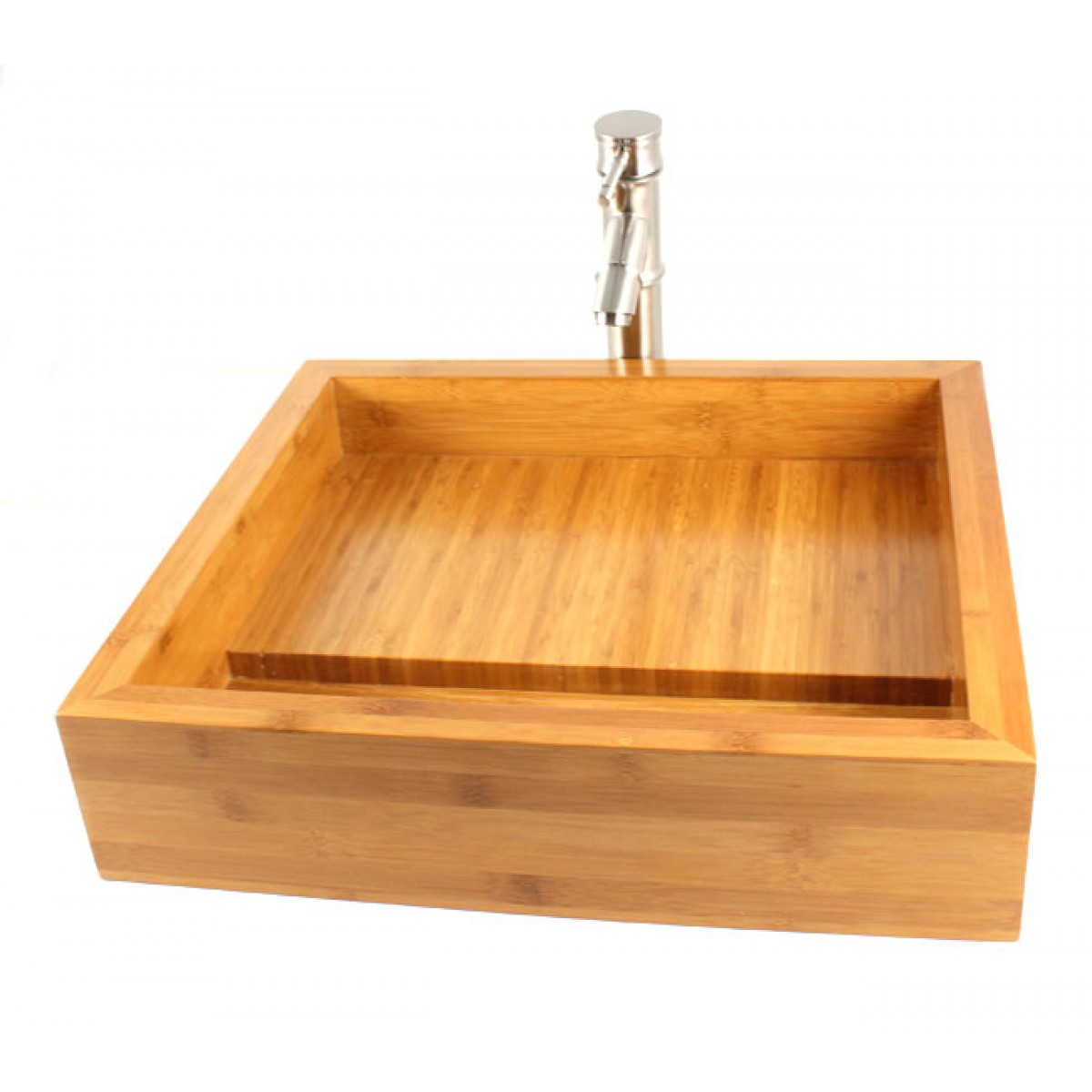 Pure Bamboo Countertop Bathroom Lavatory Vessel Sink