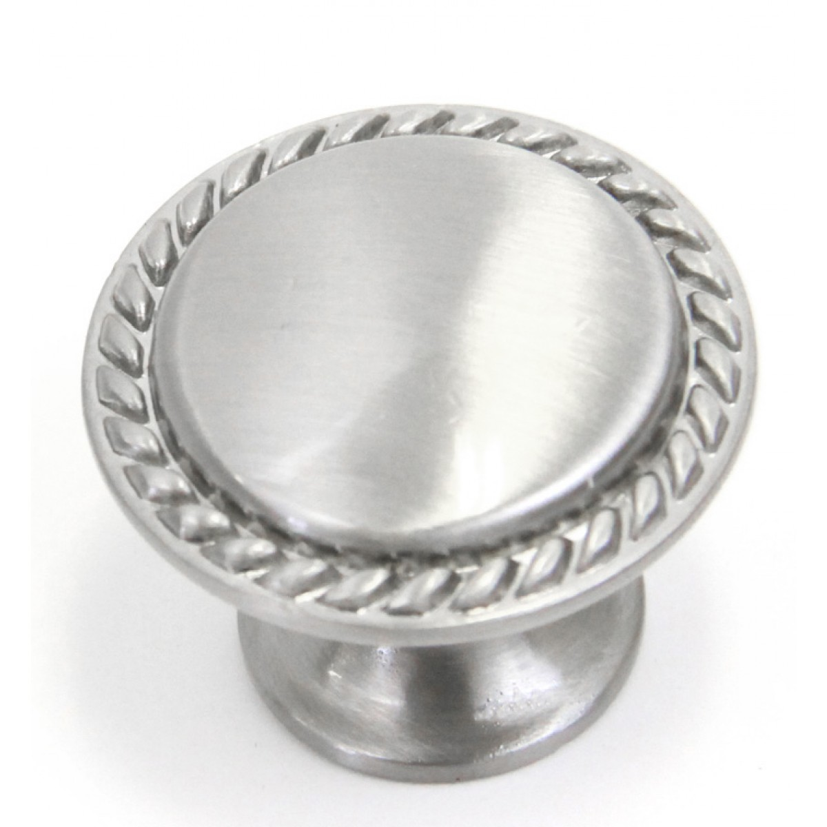 Bead Cabinet Pull Brushed Nickel Finish