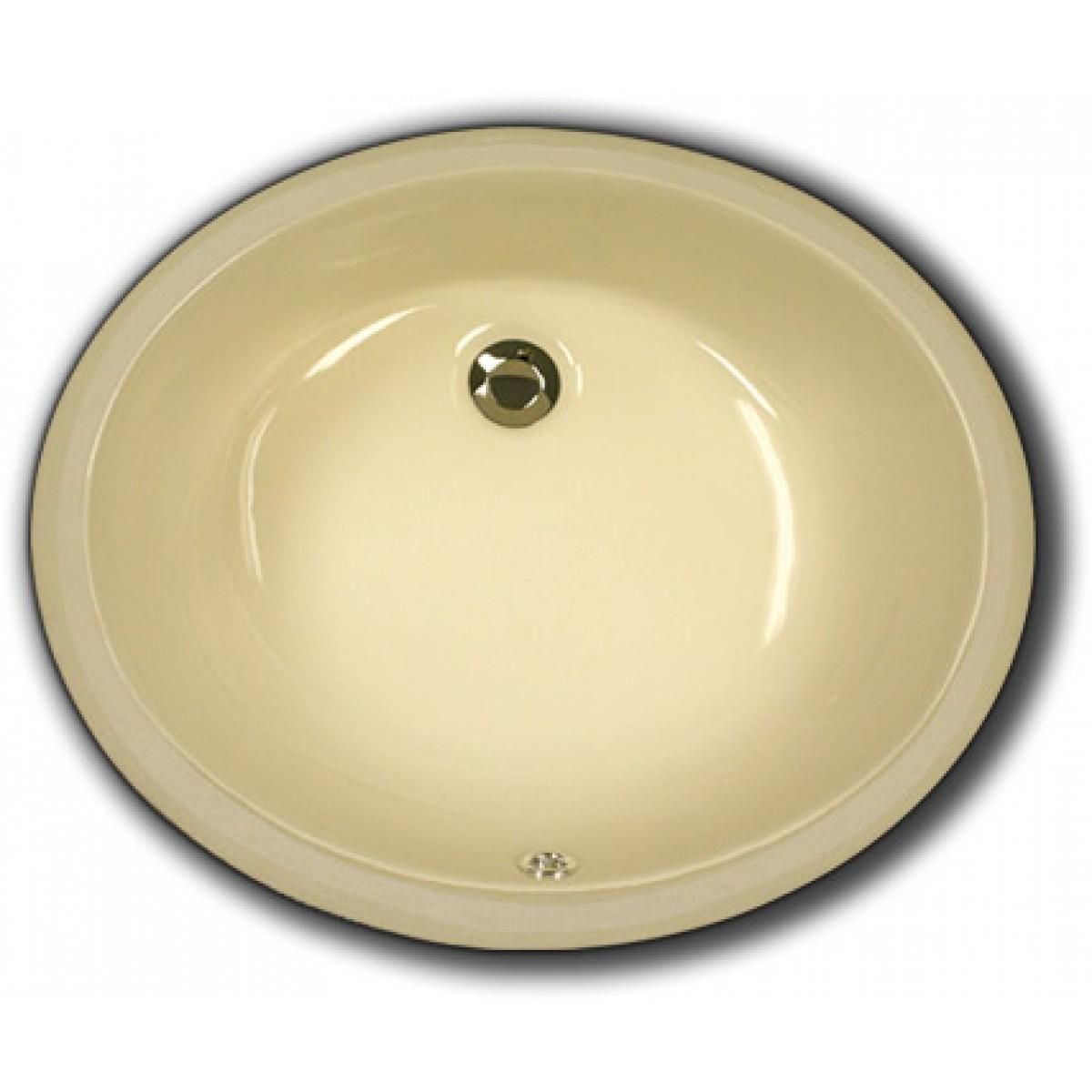 Biscuit Porcelain Ceramic Vanity Undermount Bathroom Vessel Sink 17 X 14 6 Inch
