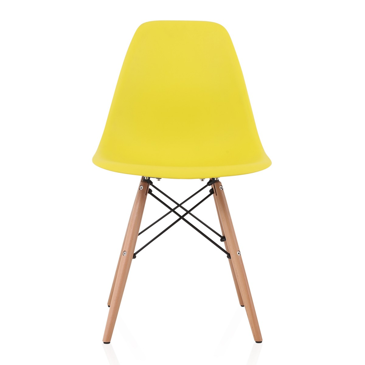 Dsw Dining Chair Light Yellow Beech Eames Retro Style Eiffel