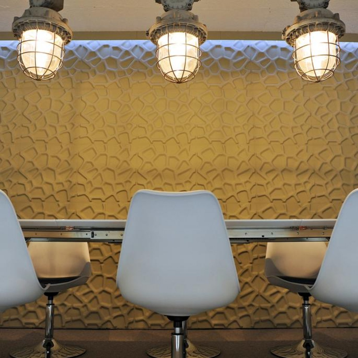 Hive Pattern Design 3D Glue On Wall Panel / Wall Flats - Box of 10 ...