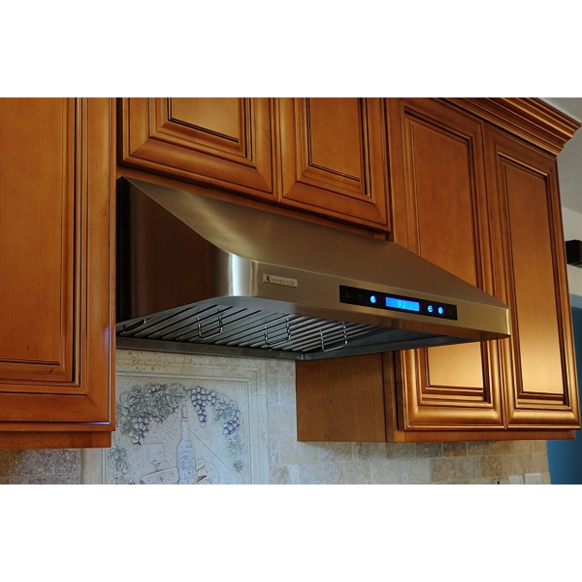 under cabinet range hood xtremeair 36 inch cabinet stainless steel range 27525