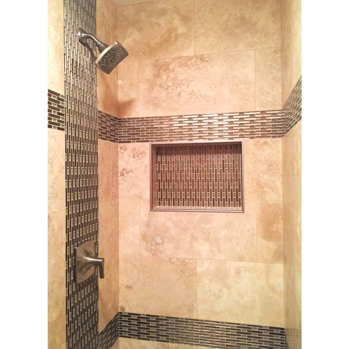 """SHOWER CUBE Ready For Tile Waterproof Leak Proof 17"""" X 25"""