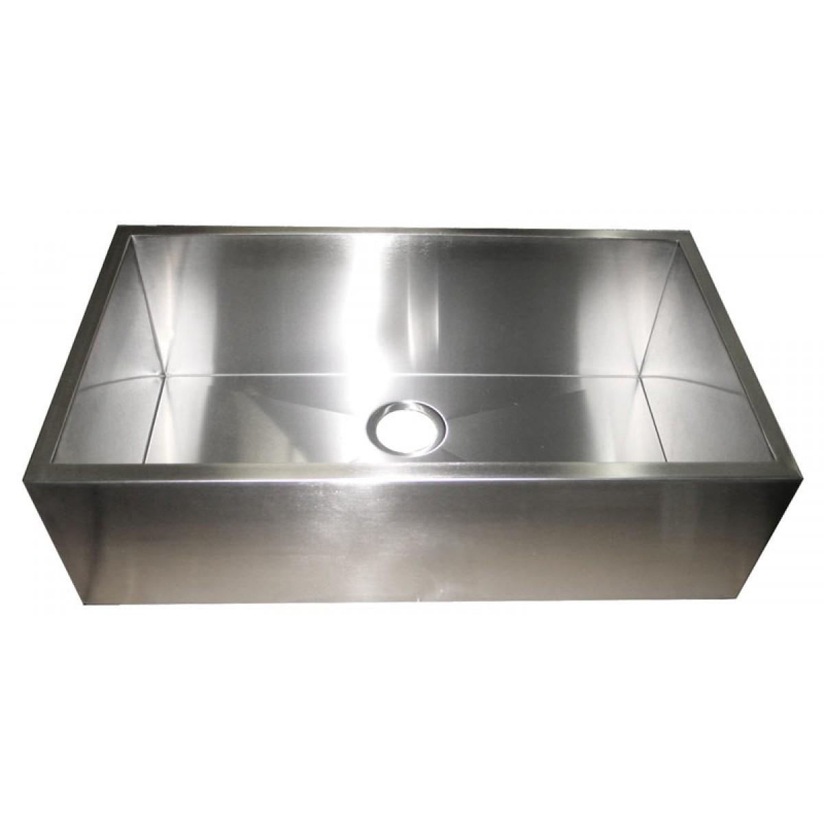 Stainless Steel Apron Kitchen Sink