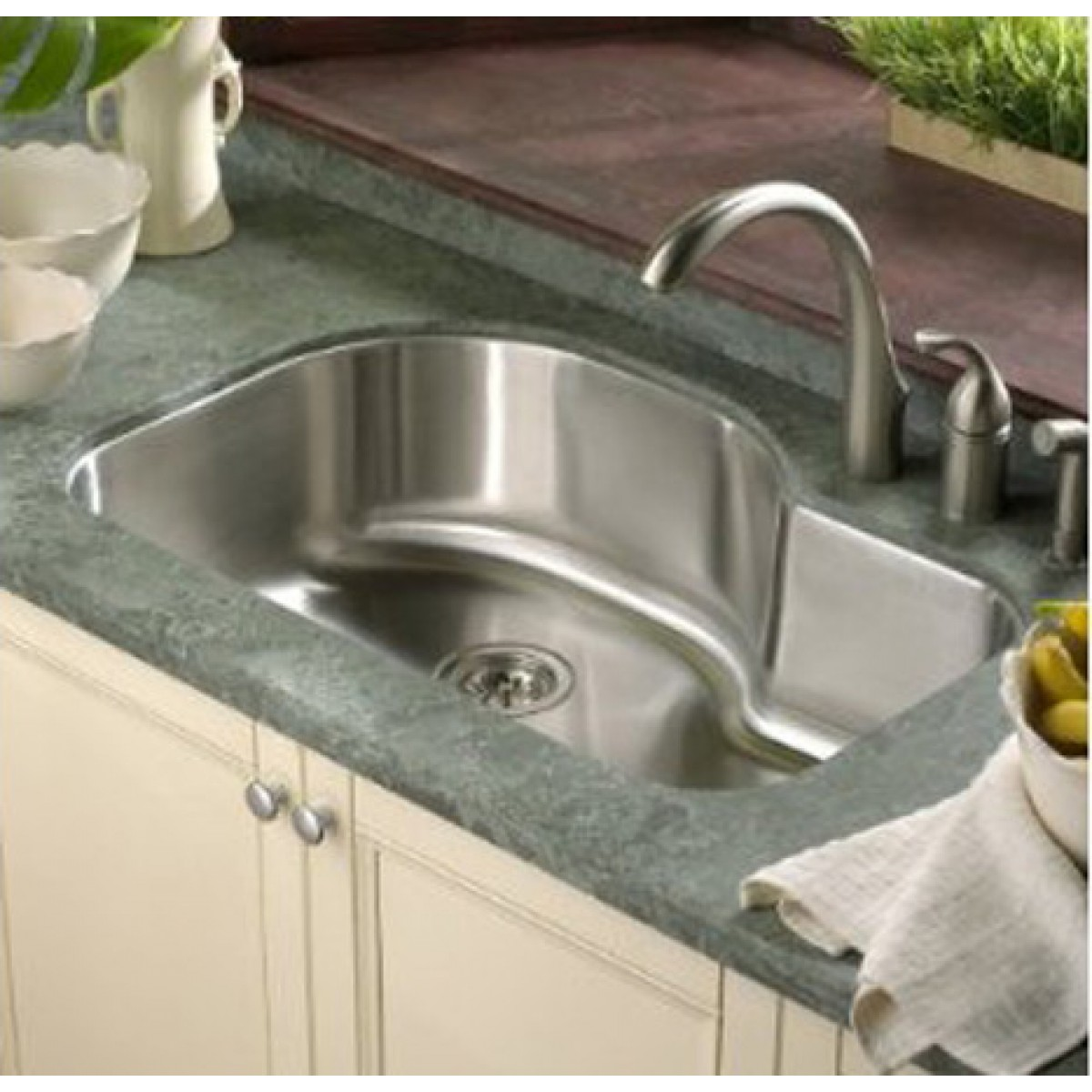 Inch Kitchen Sink Undermount Stainless Steel