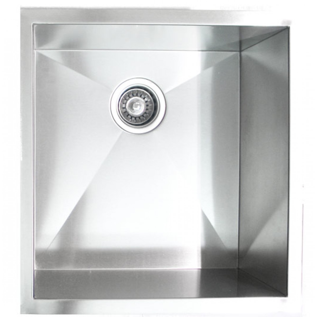Beau 19 Inch Stainless Steel Undermount Single Bowl Kitchen / Bar / Prep Sink  Zero Radius Design