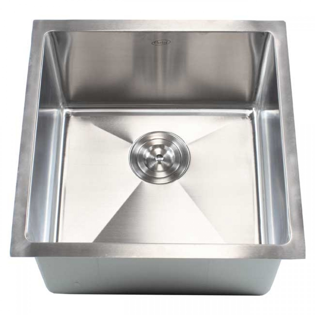 Ariel 18 Inch Stainless Steel Undermount Single Bowl Kitchen / Bar ...