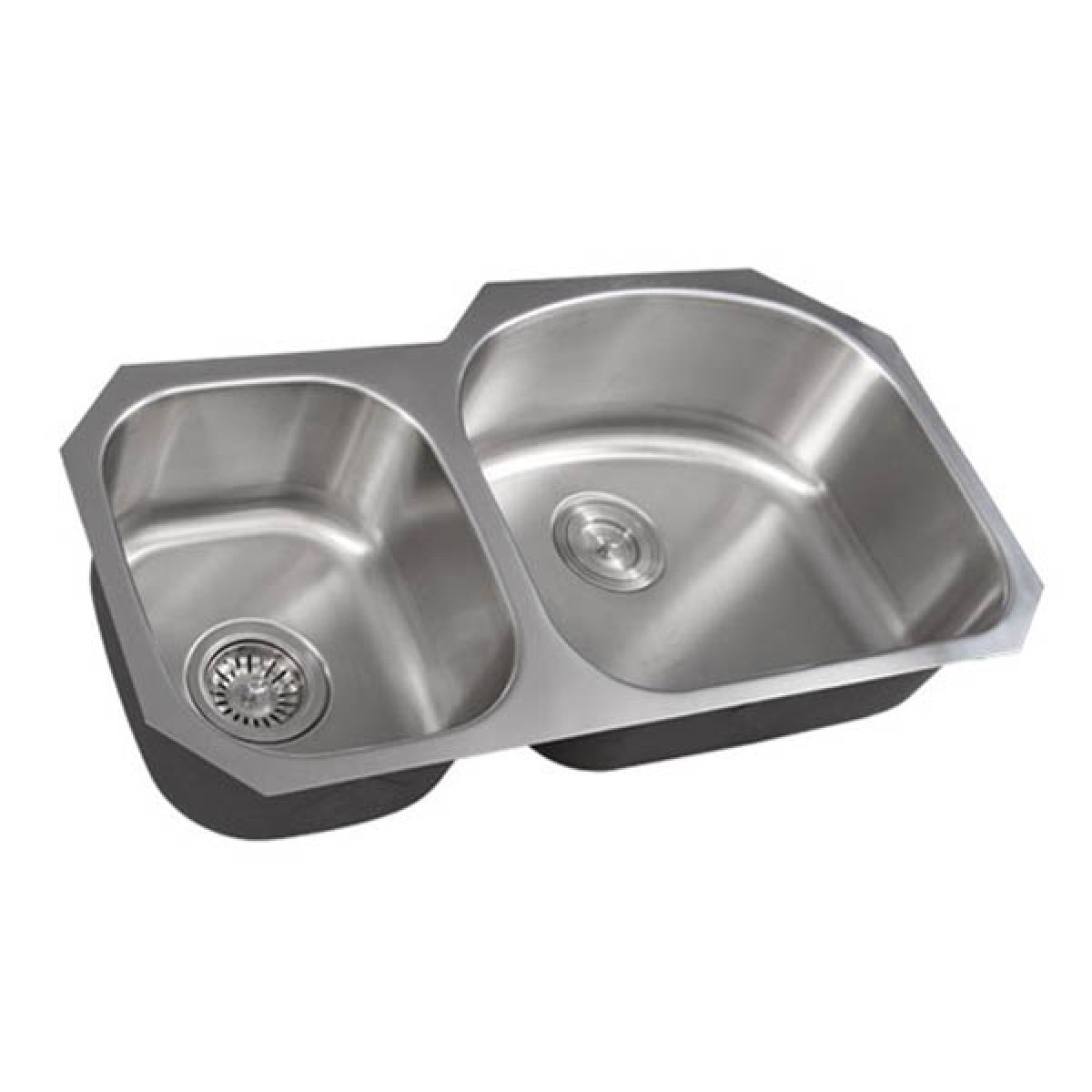 32 Inch Stainless Steel Undermount Double 40 60 D Bowl