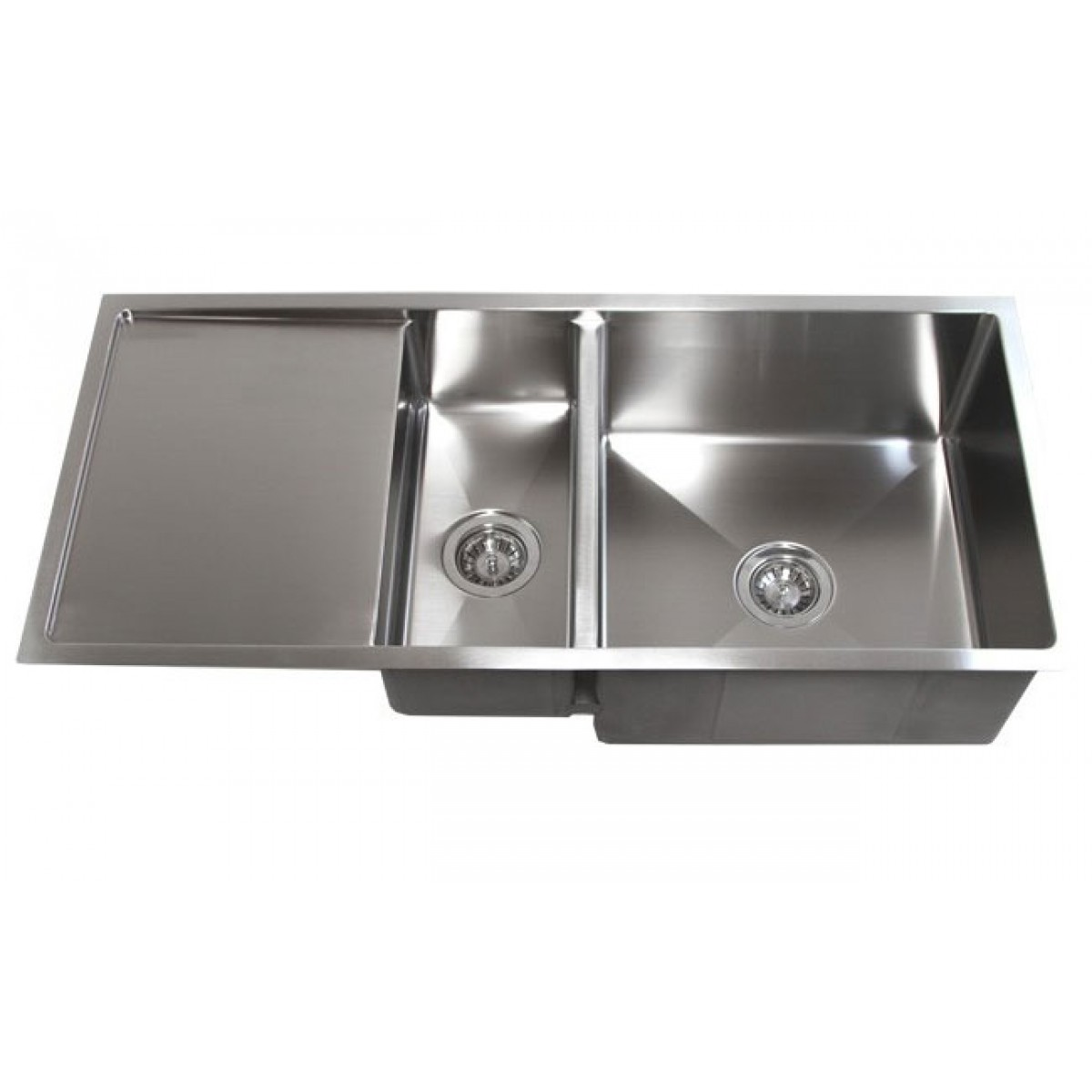 Stainless Steel Undermount  Gauge Double Bowl Kitchen Sink