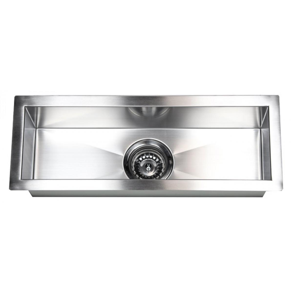 23 Inch Stainless Steel Undermount Single Bowl Kitchen