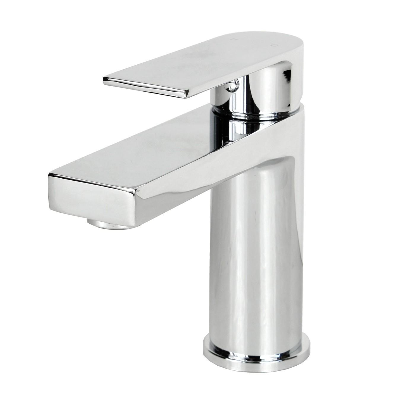 Anna polished chrome bathroom vessel sink single hole faucet - Anna s linens bathroom accessories ...