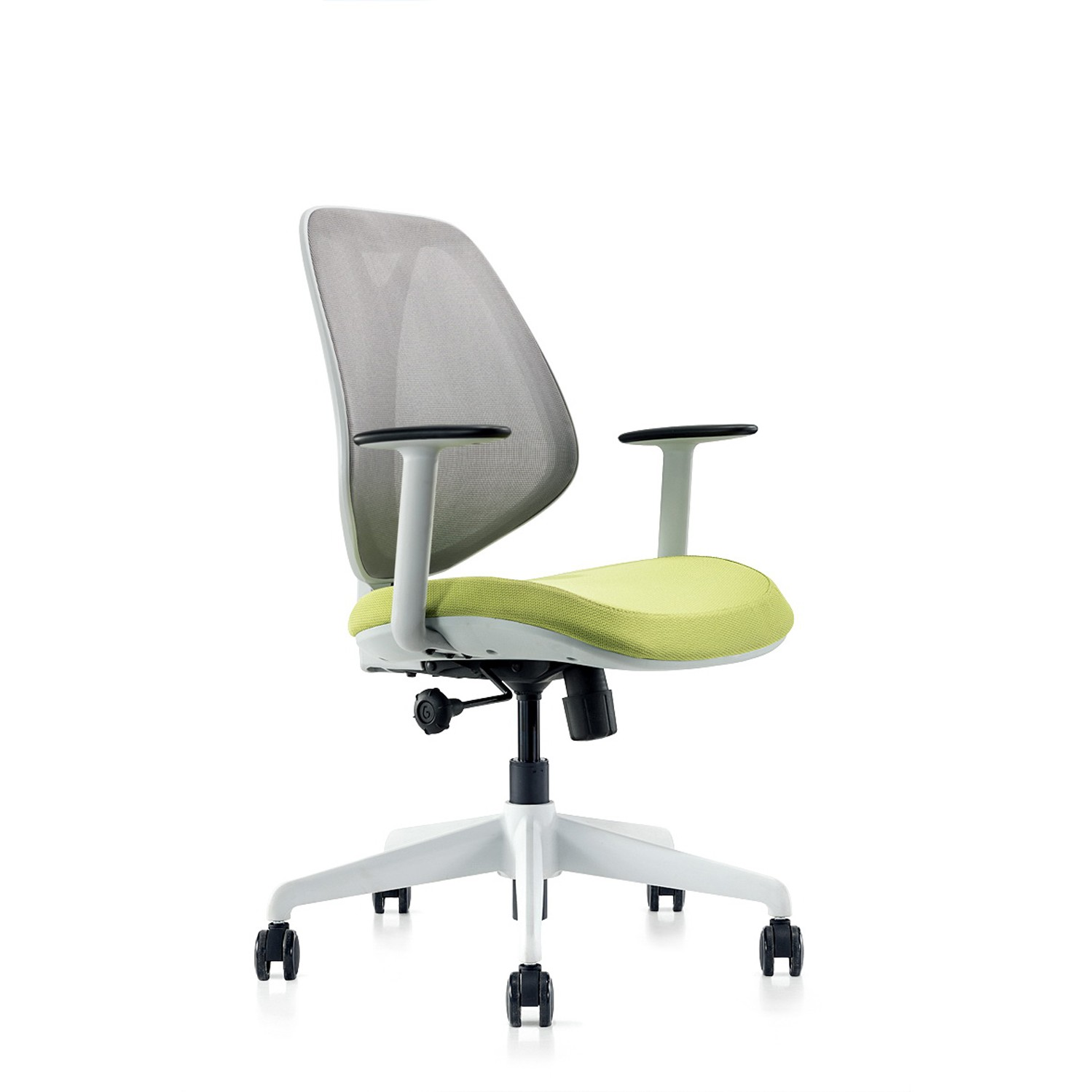 Omin Series Ergonomic Office Chair Gray Mesh Low Back