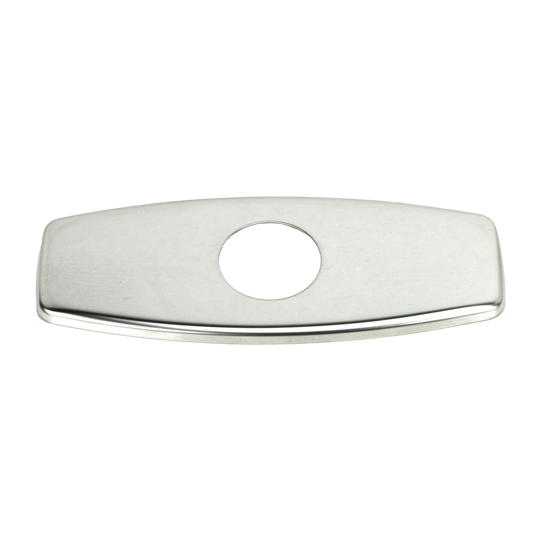 Polished Chrome Bathroom Vessel Sink Faucet Hole Cover