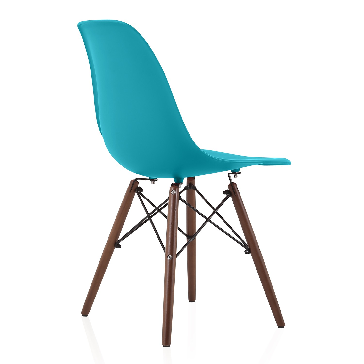 Nature Series Teal Blue Eames Style Dsw Molded Plastic