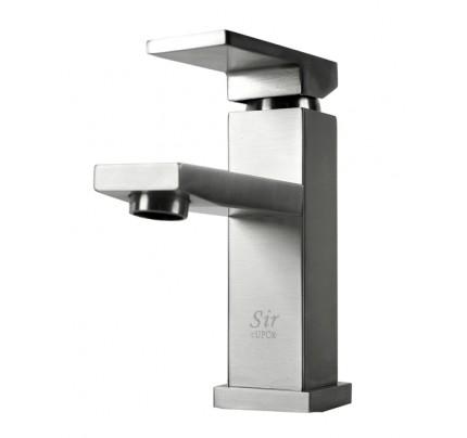 Lead Free Brushed Nickel Bathroom Lavatory Vessel Sink Faucet   6 1/2 X