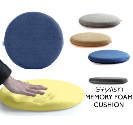 Lovely Eames Style Memory Foam Seat Cushion   Premium Modern Large Non Slip Dining  / Office