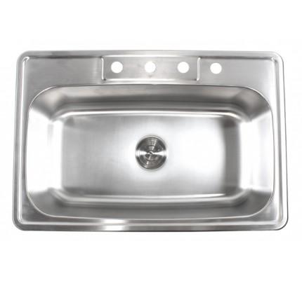 Premium 16 Gauge Kitchen Sinks | Premium 16 Gauge Stainless Steel ...