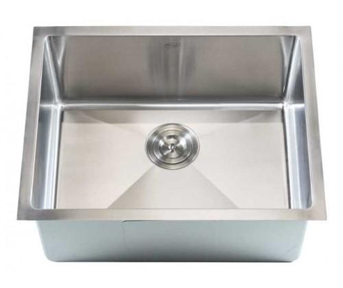 23 Inch Stainless Steel Undermount Single Bowl Kitchen / Bar Sink 15mm Radius Design - 16 Gauge