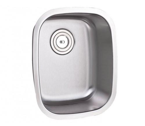 15 Inch Stainless Steel Undermount Single Bowl Kitchen / Bar / Prep Sink - 16 Gauge