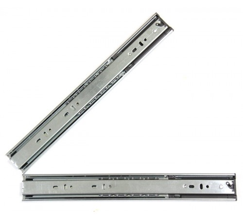 16 Inch Hydraulic Soft Close Full Extension Ball Bearing Drawer Slide