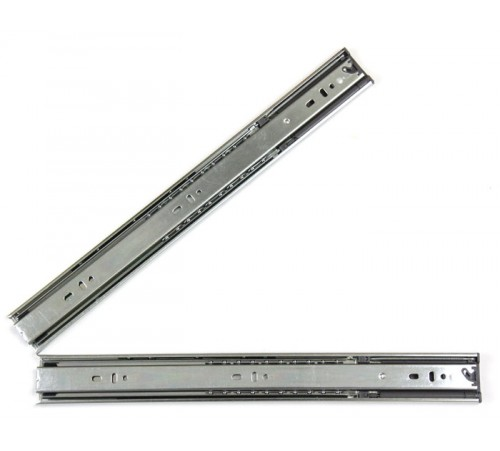 18 Inch Hydraulic Soft Close Full Extension Ball Bearing Drawer Slide