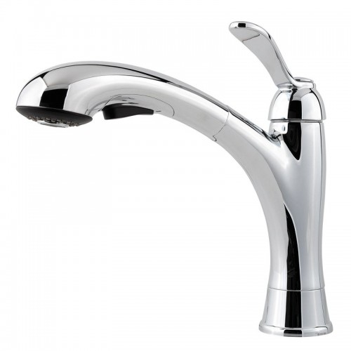 Pfister Clairmont Lead Free Single Handle Pull Out Kitchen Faucet