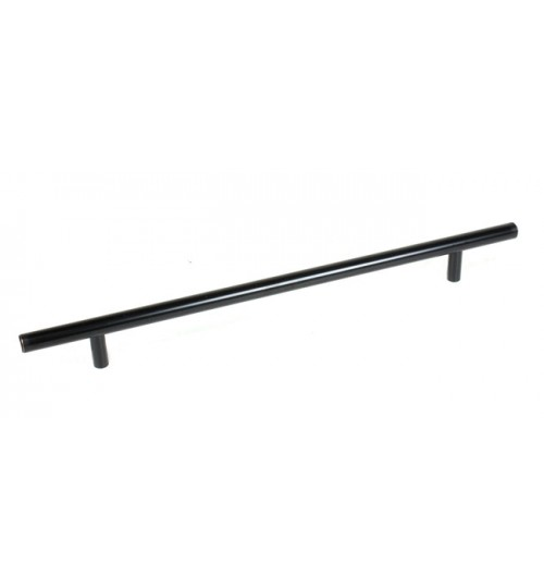 Euro 14 inch (350 mm) Kitchen Cabinet Bar Pull Oil Rubbed Bronze Finish with 10 Inch (254 mm) Hole to Hole Spacing