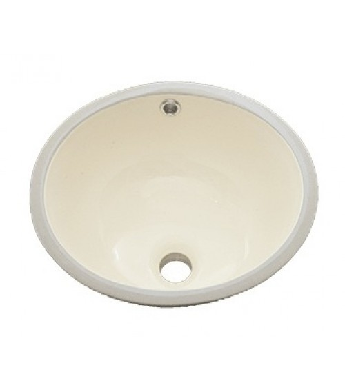 15 Inch Porcelain Ceramic Vanity Undermount Bathroom Vessel Sink