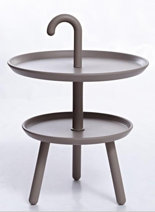 Gray Hanny Scandinavian Minimalist End / Side Table