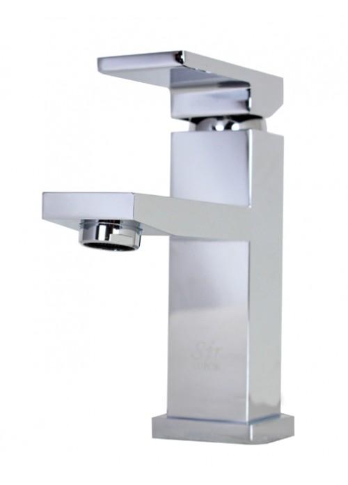 Lead Free Chrome Bathroom Lavatory Vessel Sink Faucet - 6-1/2 x 3-1/4 Inch
