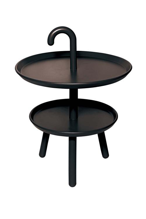 Black Hanny Scandinavian Minimalist End / Side Table