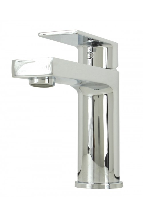 Anna Polished Chrome Bathroom Vessel Sink Single Hole Faucet