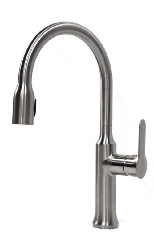 Allora Citadel Design Lead Free Brushed Nickel Kitchen / Bar Faucet