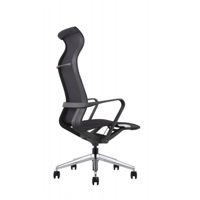 Swell Hilo Series Ergonomic Office Chair High Back Mesh Chair Hydraulic Adjustable Height And Seat Tilt Lock Extensive Lumbar Support Mesh Desk Pabps2019 Chair Design Images Pabps2019Com