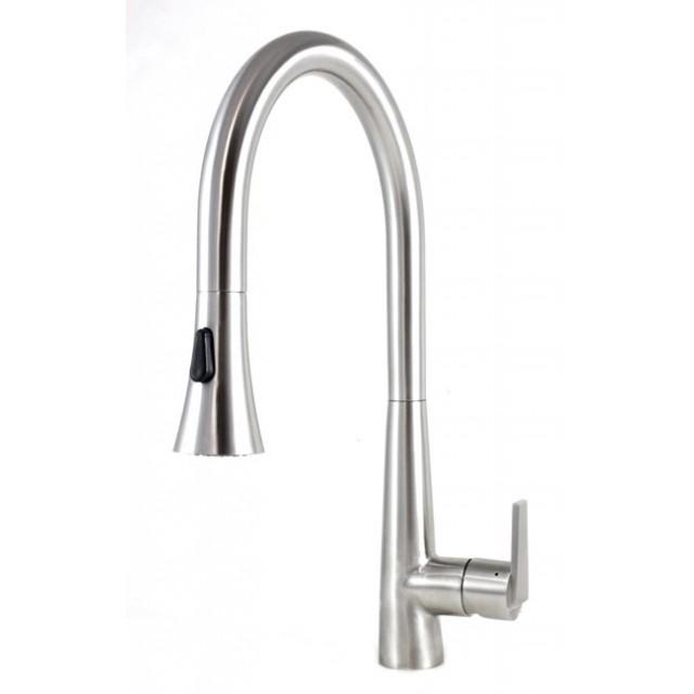 36 Inch Single Bowl 15mm Radius Design Kitchen Sink And Eclipse