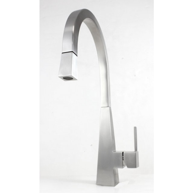 Ariel Imperial Design Lead Free Stainless Steel Single Hole Pull Out