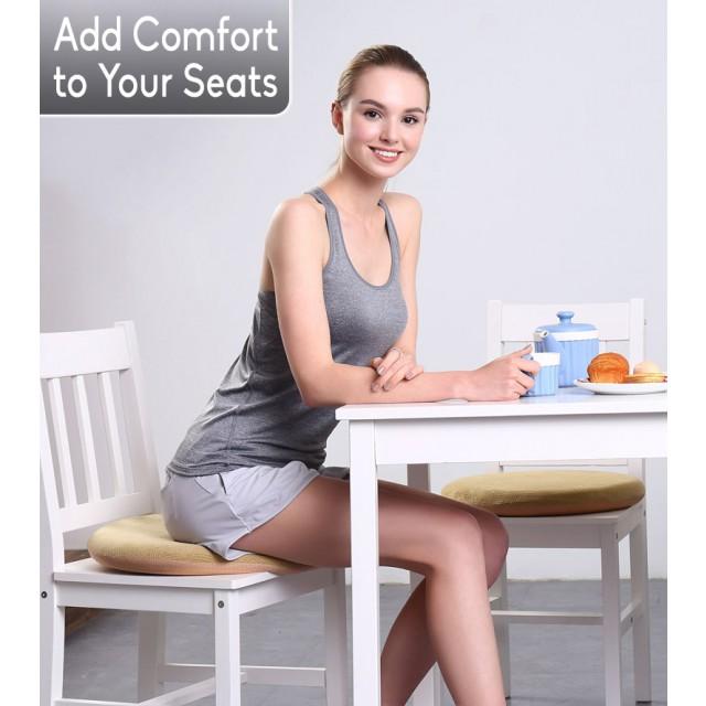 Memory Foam Seat Cushion Premium, Memory Foam For Dining Room Chairs