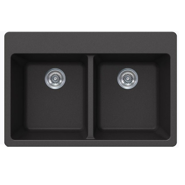 Inch Double Bowl Undermount Kitchen Sink