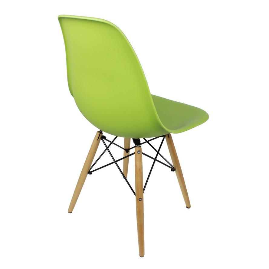 Eames Style Dsw Green Retro Eiffel