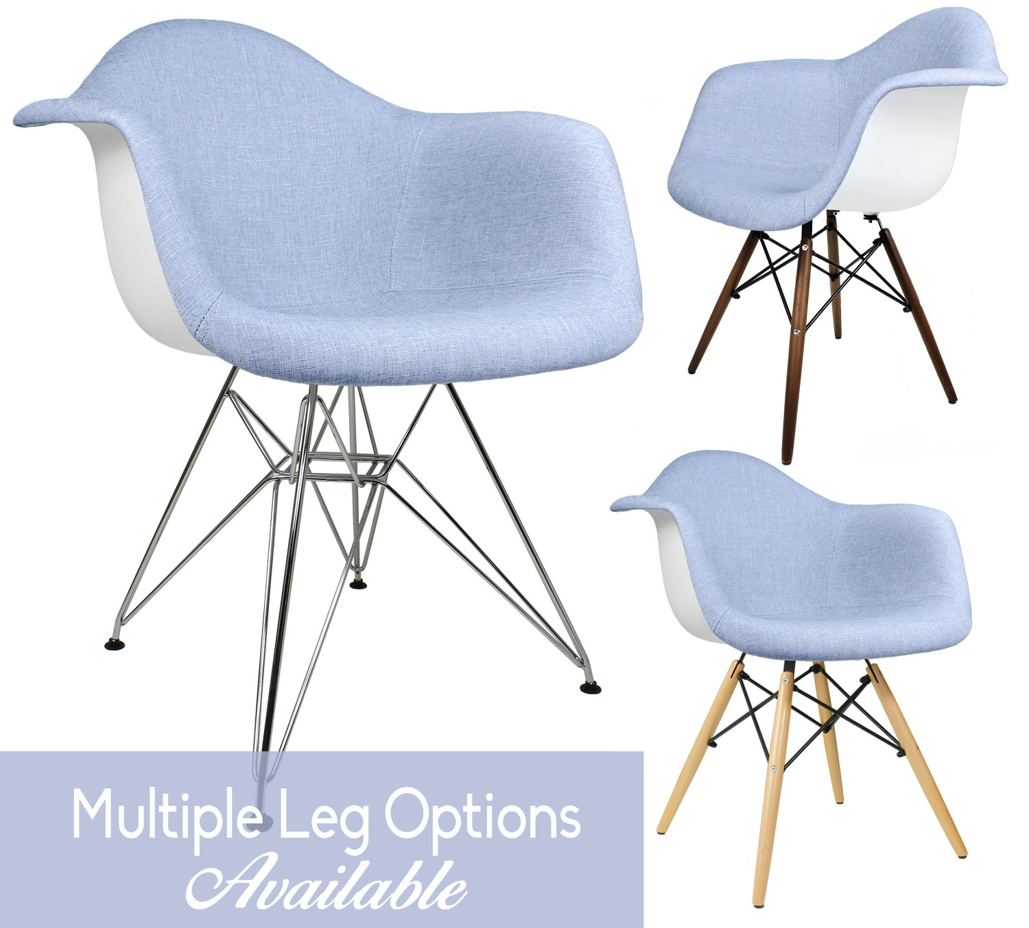Wondrous Blue Denim Fabric Upholstered Accent Arm Chair Caraccident5 Cool Chair Designs And Ideas Caraccident5Info