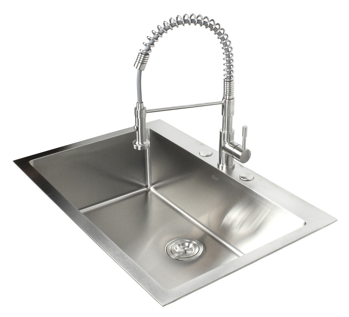 single bowl kitchen sink drop in 33 inch top mount drop in stainless steel single bowl 9304
