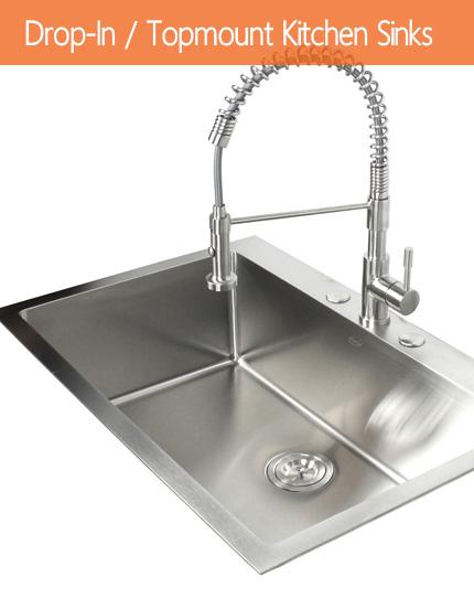Drop-In / Topmount Kitchen Sinks